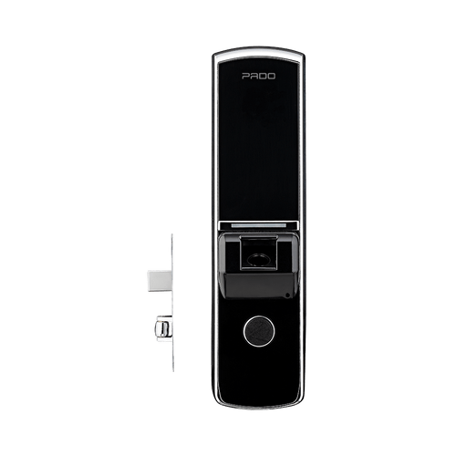 Fechadura-Eletronica-Digital-Embutir-Biometrica-Rolete-FDE-201R-Pado