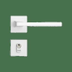 Fechadura-Karli-Externa-Branco-Textura