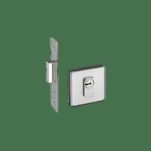 Trava-Multiponto-6500-Roseta-Quadrada-em-Inox-Escovado